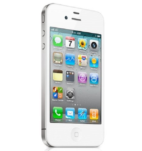apple iphone 4s blanc 8go smartphone d bloqu. Black Bedroom Furniture Sets. Home Design Ideas