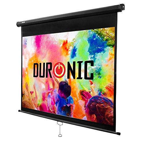 duronic mps70 1 1 ecran de projection d roulement manuel 70 pouces 1 1 178 x178 cm. Black Bedroom Furniture Sets. Home Design Ideas