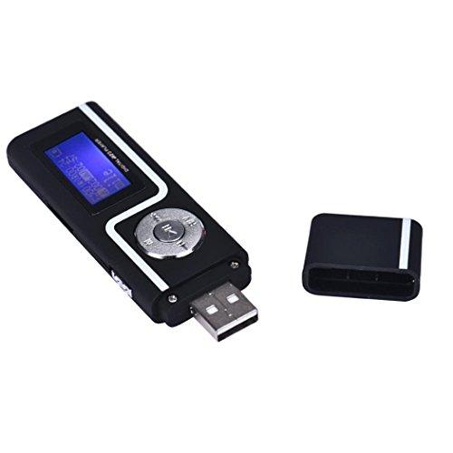 gotd portable usb mp3 lecteur de musique cran lcd prise en charge 16 go carte tf noir ecran. Black Bedroom Furniture Sets. Home Design Ideas