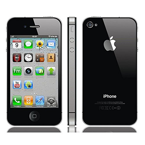 iphone 4s 8 go noir smartphone reconditionn certifi. Black Bedroom Furniture Sets. Home Design Ideas