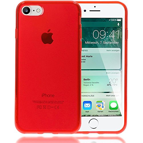 Iphone 8 7 coque silicone de nica ultra fine housse for Housse protection iphone 7