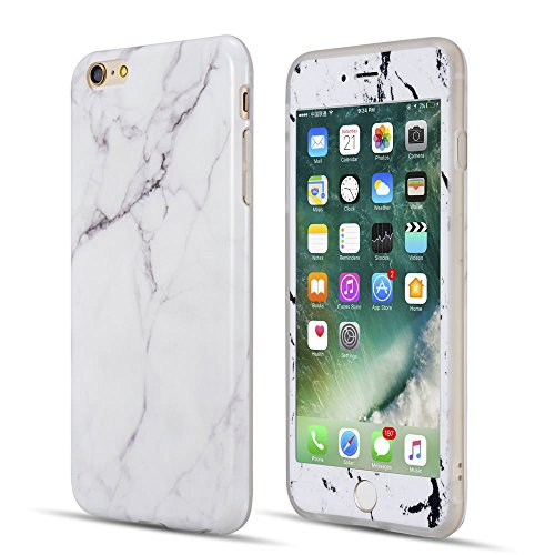coque int grale tpu marbre motif blanc iphone 6 plus 6s plus coque int grale iphone 6s plus. Black Bedroom Furniture Sets. Home Design Ideas