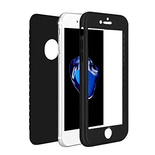 Coque iphone 7 plus couvercle avant ultra mince 360 for Housse silicone iphone 7