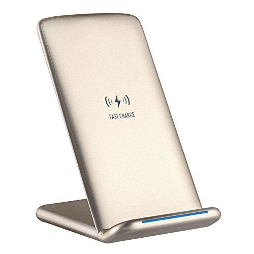 qi chargeur sans fil rapide holife chargeur induction fast wireless charger pour samsung galaxy. Black Bedroom Furniture Sets. Home Design Ideas