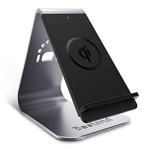 bestand chargeur sans fil qi chargeur 3 bobines d 39 induction chargeur induction pour iphone 8. Black Bedroom Furniture Sets. Home Design Ideas
