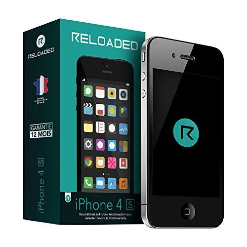 reloaded iphone 4s smartphone d bloqu 3g ecran 3 5. Black Bedroom Furniture Sets. Home Design Ideas